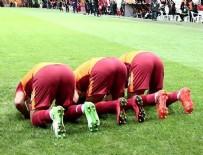 YOUNES BELHANDA - Galatasaraylı futbolculardan Kudüs mesajı