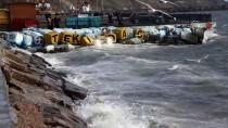 MÜREFTE - Lodos Deniz Ulaşımını Olumsuz Etkiledi