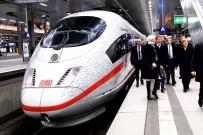 YÜKSEK HıZLı TREN - Merkel, Berlin-Münih Arasını 4 Saate İndiren Hızlı Tren Hattını Açtı
