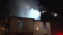 MADDE BAĞIMLISI - Metruk Binada Yangın