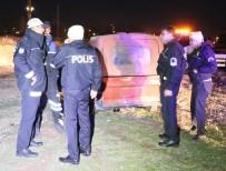 Polisten Kaçan Araç, Lastiğine Ateş Açılarak Durduruldu
