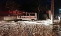 SANAYİ SİTESİ - Yeraltından Çıkan Dumanlar İtfaiyeyi Alarma Geçirdi