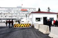 POLİS NOKTASI - Adıyaman Valiliğine Giriş Daha Güvenli Hale Getirildi