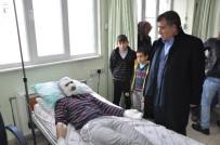 İŞ KAZASI - Afşin-Elbistan A Termik Santrali'nde Yangın Açıklaması 3 İşçi Yaralandı
