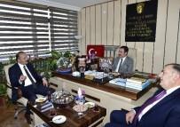 MAMAK BELEDIYESI - Akgül'den AHİD'in Yeni Yönetimine Hayırlı Olsun Ziyareti