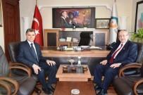 SUAT YıLDıZ - Başkan Albayrak'tan Vali Yardımcıları Ve Süleymanpaşa Kaymakamına Hayırlı Olsun Ziyareti