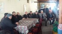 Başkan Kale'den Esnaf Ve Taziye Ziyareti