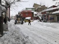 KAR KÜREME ARACI - Bingöl Belediyesi Karla Mücadele Çalışmalarını Sürdürüyor