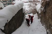KALDIRIMLAR - Bitlis Belediyesinden Karla Mücadele Çalışması