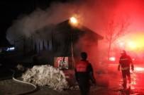 ELMALıK - Bolu'da Çıkan Yangında 6 Dükkan Kül Oldu