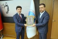ALI ÖZCAN - Bülbülzade Vakfı'ndan Rektör Prof. Dr. Karacoşkun'a Hayırlı Olsun Ziyareti