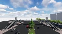 ÇOCUK HASTANESİ - Büyükşehir'den İstanbul Yolu Üzerine Yaya Üst Geçidi