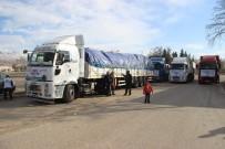 Kahramanmaraş'tan Suriye'ye 5 Tır Yardım