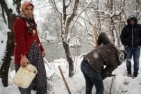 Kışlık Tatlar Kar Altından Çıkarıldı