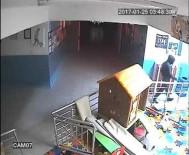 BEYCUMA - Maskeli Okul Hırsızı Güvenlik Kamerasında
