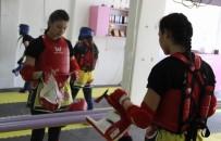 KADINA ŞİDDET - Genç Kadın Muay Thai Sporcularından Hemcinslerine Çağrı