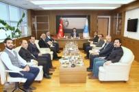 NEBIOĞLU - Rektör Karacoşkun'a Hayırlı Olsun Ziyaretleri Sürüyor