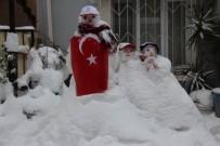 SOĞUK HAVA DALGASI - Samsun'da Kar Çilesi