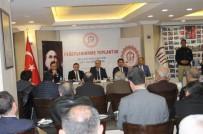 MUSTAFA TUTULMAZ - Siirt'te 2016 Yılı Değerlendirme Toplantısı Yapıldı