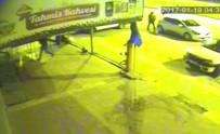 AKKENT - Sucuk Hırsızlığı Güvenlik Kamerasında