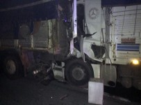 TEM'de Korkunç Kaza Açıklaması 2 Ölü, 2 Yaralı