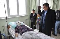 İŞ KAZASI - Termik Santralde Yangın Açıklaması 3 İşçi Yaralandı