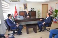 OSMAN GÜVEN - AK Parti'li Aydemir'den Kaymakam Güven'e Ziyaret