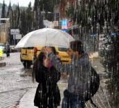 YAĞMURLU - Aydın'da Yarından İtibaren Soğuk Hava Etkili Olacak