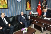 KADİR ALBAYRAK - Başkan Albayrak Saray'da  Ziyaretlerde Bulundu