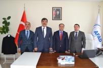 FEYAT ASYA - Başkan Asya'dan Bitlis'teki Kurum Müdürlerine Ziyaret