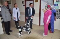 Başkan Bakıcı'dan Hastanede Tedavi Gören Çocuklara Sürpriz Hediye