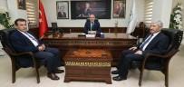 PAMUKKALE - Başkan Gürlesin Müsteşar Yardımcısı Tuzcuoğlu'nu Ağırladı