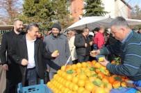 Başkan Tutal, Pazarcı Esnafıyla Buluştu