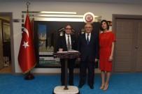 EDUARDO - Brezilya Büyükelçisi'nden Adana Valiliği'ne Ziyaret
