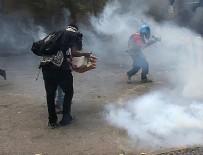 GÖZ YAŞARTICI GAZ - Brezilya'da kamu çalışanları polisle çatıştı