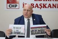 GÜRSEL TEKİN - CHP Edirne İl Başkanı Fevzi Pekcanlı Açıklaması 'Bakana Tepki Göstermişim Gibi Algılandı'
