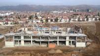 Elazığ'da 15 Temmuz Şehitleri Spor Salonunun İnşası Devam Ediyor