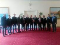 AHMET DEMIRCI - GMİS Yönetimi, TBMM'de Bir Dizi Ziyaret Gerçekleştirdi