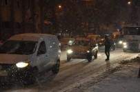 GİZLİ BUZLANMA - Kars Yeniden Beyaza Büründü