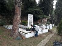 ÖLÜM YILDÖNÜMÜ - Leyla Atakan'ın Kabrine Bakım Yapıldı