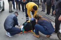 TARIŞ - Milas'ta Motosikletin Çarptığı Yaya Yaralandı
