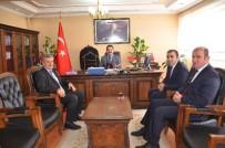 ALI ÇELIK - Müdür Arslan'dan Kaymakam Özkan'a Veda Ziyareti