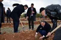ORMAN MÜDÜRLÜĞÜ - Osmanbey Yerleşkesinde Bin Fidan Toprakla Buluştu