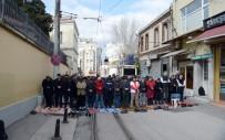AHMET MISBAH DEMIRCAN - Taksim'de Bu Görüntüler Yakında Son Bulacak