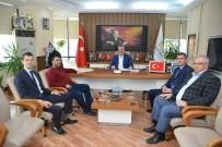 ALI ÖZKAN - UEDAŞ'tan Karacabey Belediye Başkanı Ali Özkan'a Ziyaret