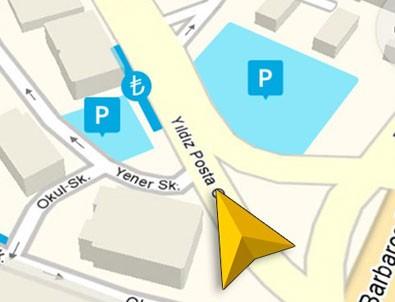 Yandex navigasyon uygulamasına park yerlerini ekledi