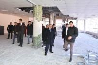 MEHMET AKTAŞ - Yeni Valilik Binasında Çalışmalar Tüm Hızıyla Devam Ediyor