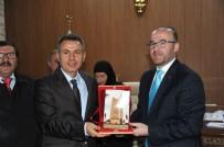 Başkan Yardımcısı Hayrettin Eldemir Muhtarlar İle Birlikte Vali Elban'ı Ziyaret Etti