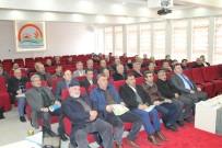 Bayburt Muhtarlarına Bilgilendirme Toplantısı Düzenlendi