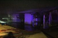 Bolu'da Çıkan Yangında Halı Yıkama Dükkanı Kül Oldu